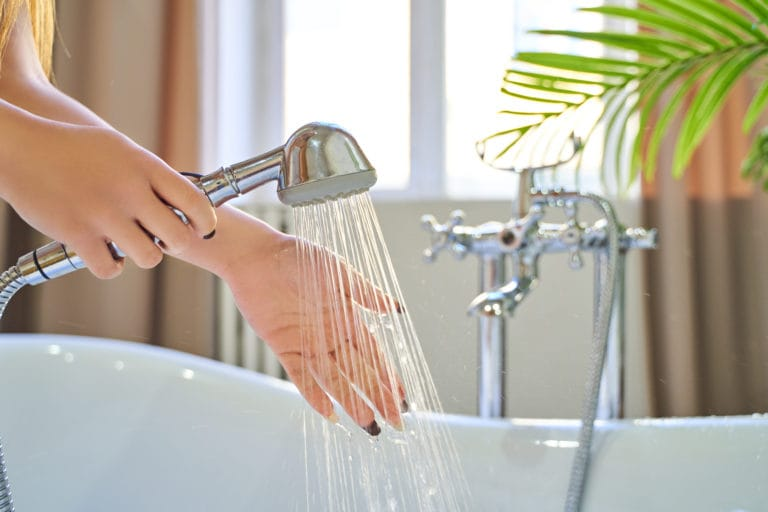 icosawater hand shower