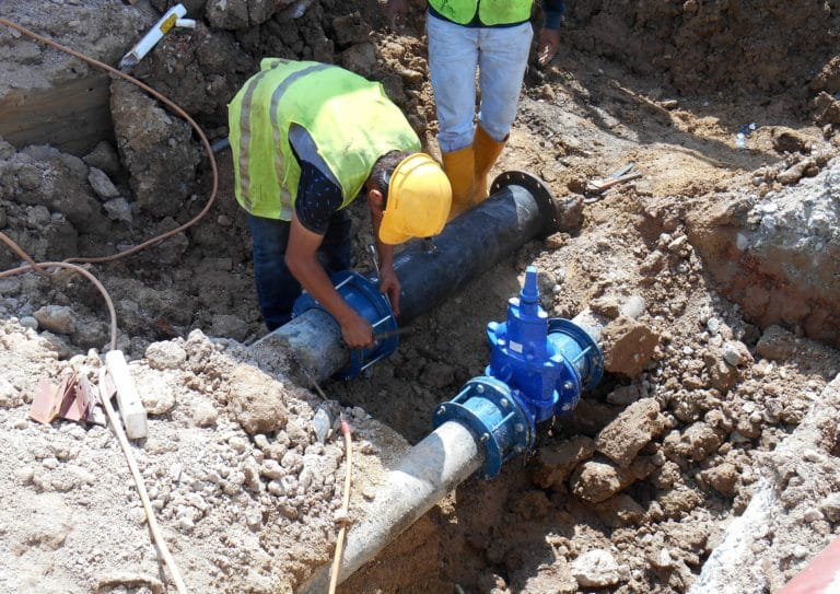 Icosawater Workman Pipework